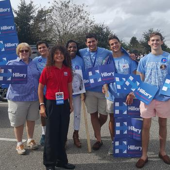 University of Central Florida and University of Florida students - Gators for Hillary and Knights for Hillary