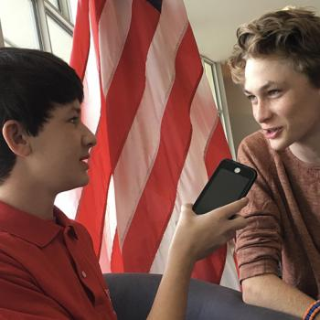 Benjamin interviews 15-year-old Will Hagan about the proposed wall