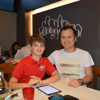 Giona and Francesco Wu