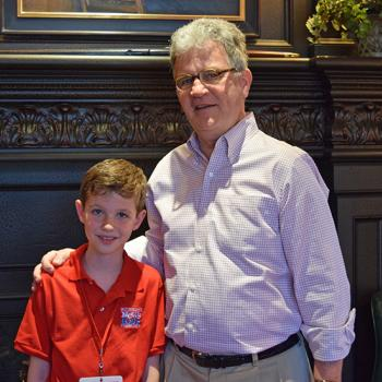 Preston with former Oklahoma Senator Tom Coburn