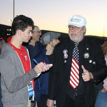 Erik interviews Trump supporter Edward X. Young