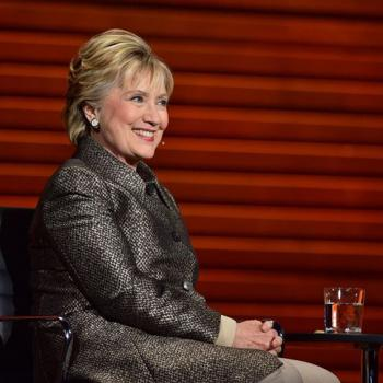 Former Democratic presidential candidate Hillary Rodham Clinton headlined Tina Brown's Women in the World Summit in New York City.