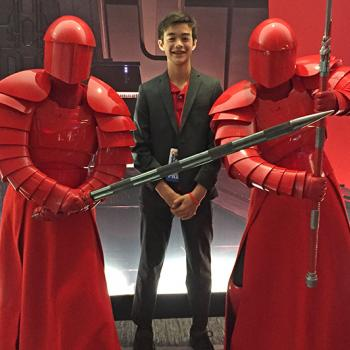 Ben with Praetorian Guard, Dec 3, 2017