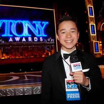 Max at the 72nd Tony Awards at Radio City Hall in New York City