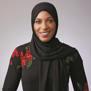 Ibtihaj Muhammad, an Olympic saber fencer.