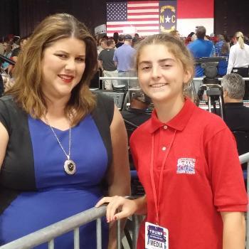 Loretta Boniti with Abigail in Greensboro, NC