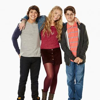 Pictured: Max (Jonny Gray); Abby (Emilia McCarthy) Alvin (Jake Goodman) in Max & Shred on Nickeleodon Photo: AaronWarkov/Nickelodeon ©2014 Viacom International Inc All Rights