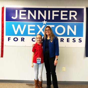 Sidonie Gillette with Jennifer Wexton