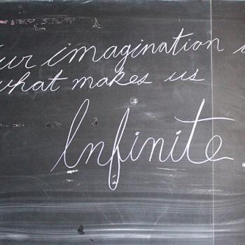 An example of cursive handwriting