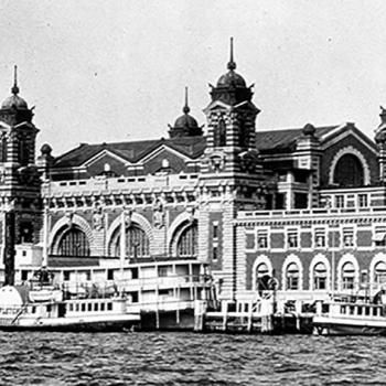 Between 1892 and 1954, millions of immigrants to the United States passed through Ellis Island on their way to a new life.