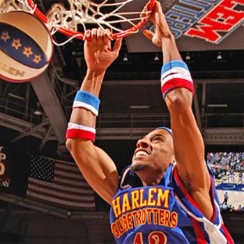 In honor of their 90th anniversary, the Harlem Globetrotters are spreading cheer beyond the basketball court.