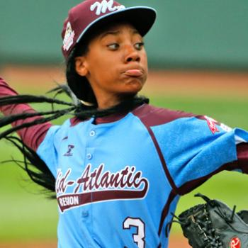 Mo'ne Davis is the first girl ever to pitch a shutout in the Little League World Series.