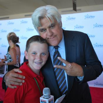 Ryan with Jay Leno