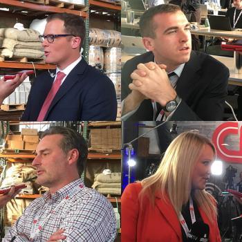 Clockwise from top left; Ryan Nobles, Jedd Rosche, Jamey Graydon, Rebekah O'Neill