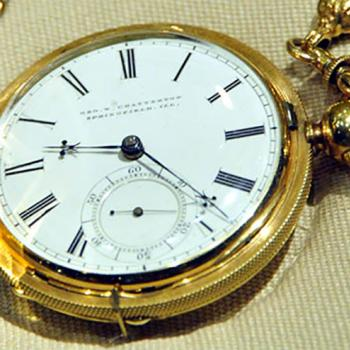 Solving a mystery: Was the inside of President Abraham Lincoln's pocket watch inscribed with a special message when the Civil War broke out? The watch is now part of the permanent collection of the National Museum of American History, a Smithsonian Institution in Washington, D.C.